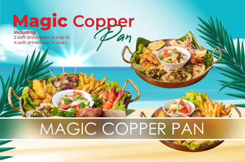 Magic Copper Pan