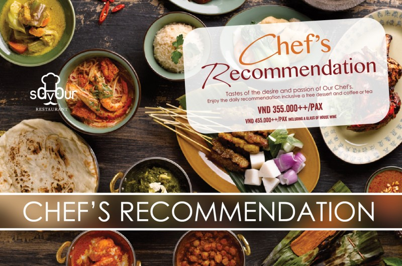 Chef's Recommedation