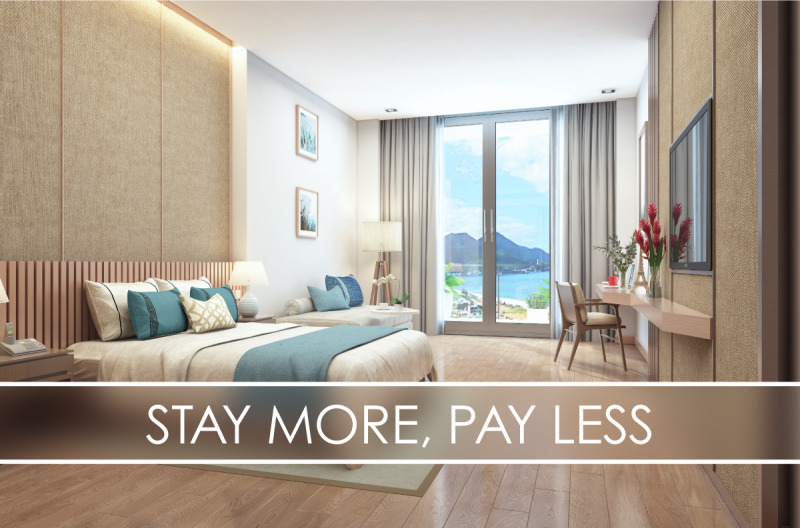 STAY MORE, PAY LESS